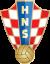 Kroatien. 1. HNL. Frauen